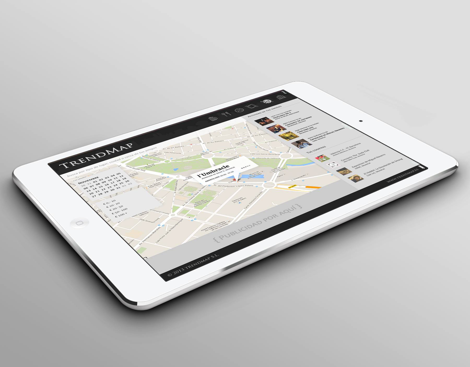 TrendMap App